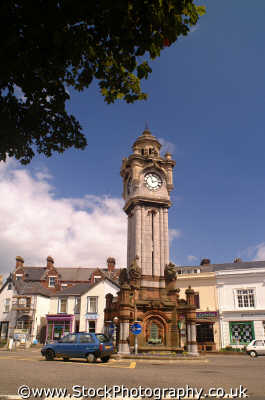 clocktower roundabout exeter british clocktowers unusual buildings strange wierd uk roads devon devonian england english angleterre inghilterra inglaterra united kingdom