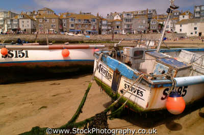 st ives merlin fishing boat south west england southwest country english uk sea seashore waterfront bathing sands strand cornish cornwall angleterre inghilterra inglaterra united kingdom british