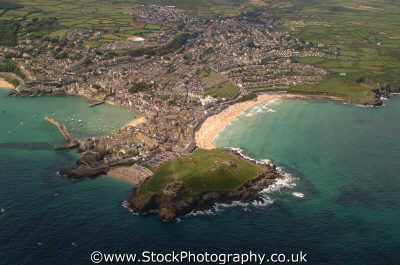 st ives head south west england southwest country english uk coastline promontory foreland cape headland cornish cornwall angleterre inghilterra inglaterra united kingdom british