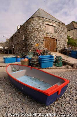 rowing boat boats rowboats marine misc. cornwall cornish england english angleterre inghilterra inglaterra united kingdom british