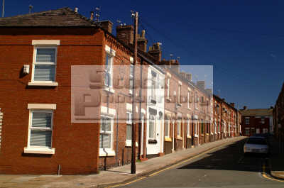 terraced houses anfield liverpool north west northwest england english uk scouse liverpudlian merseyside angleterre inghilterra inglaterra united kingdom british
