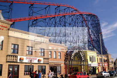 blackpool big dipper north west northwest england english uk holidays seaside illuminations lancashire lancs angleterre inghilterra inglaterra united kingdom british