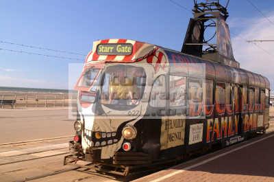 blackpool tram north west northwest england english uk holidays seaside illuminations lancashire lancs angleterre inghilterra inglaterra united kingdom british