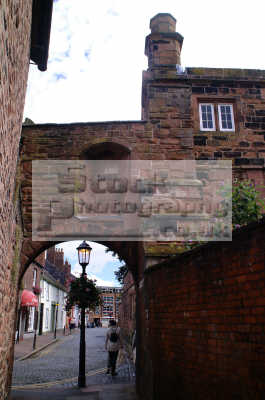 carlisle arch backstreets lake district north west northwest england english uk cumbria cumbrian angleterre inghilterra inglaterra united kingdom british