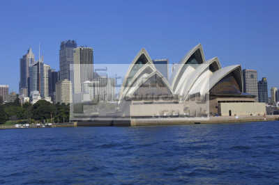 sydney opera house skyline australian travel harbor australia oz