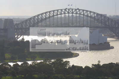 sydney opera house harbour bridge aerial australian travel harbor australia oz