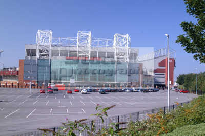 manchester united football ground old trafford mancunian north west northwest england english uk soccer premier league stadium angleterre inghilterra inglaterra kingdom british