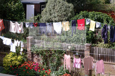 washing line abstracts misc. pants socks bra norfolk england english angleterre inghilterra inglaterra united kingdom british