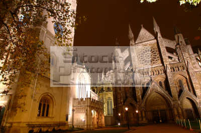 westminster abbey st margaret church night buildings architecture london capital england english uk cockney angleterre inghilterra inglaterra united kingdom british