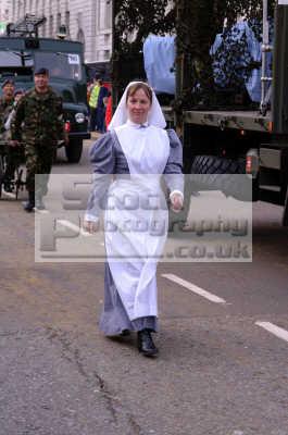 woman historic nurses uniform lord mayors medicine health science misc. nursing city london cockney england english angleterre inghilterra inglaterra united kingdom british