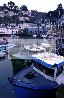 fishing boats polperro south west england southwest country english uk marine cornwall cornish angleterre inghilterra inglaterra united kingdom british