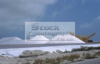 salt mounds bonaire west indies travel mining caribbean oceans netherlands antilles