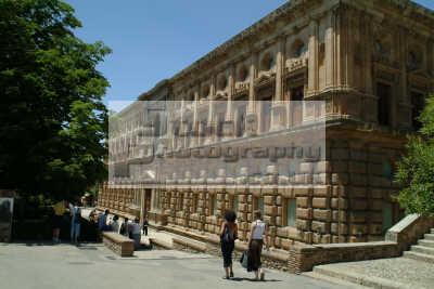 carlos palace granada andalucia spanish espana european travel spain spanien españa espagne la spagna europe