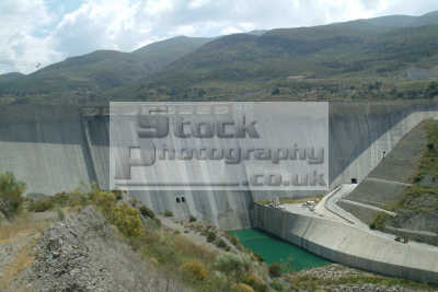 dam near granada andalucia spanish espana european travel water spain spanien españa espagne la spagna europe