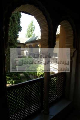 jardin la daraxa palacios nazaries alhambra granada andalucia spanish espana european travel spain spanien españa espagne spagna europe