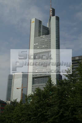 skyscraper frankfurt hesse german deutschland european travel business offices commerce main bavaria bayern germany europe germanic