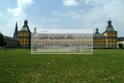 elector palace housing bonn university north rhine westphalia german deutschland european travel education rhineland valley germany europe germanic