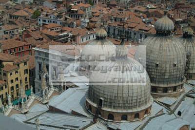venice aerial basilica san marco domes north east italy italian european travel venitian venezia italien italia italie europe
