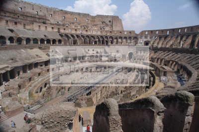 colosseum interior rome lazio italian european travel roman ancient roma italy italien italia italie europe
