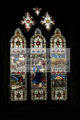stained glass window corfe village church south west england southwest country english uk dorset angleterre inghilterra inglaterra united kingdom british