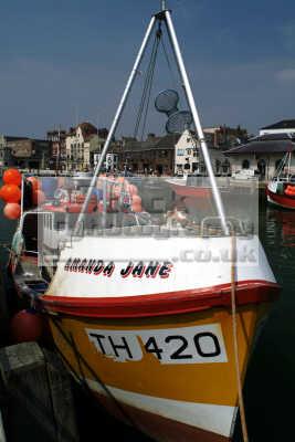 amanda jane fishing boat weymouth boats marine misc. dorset england english angleterre inghilterra inglaterra united kingdom british