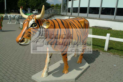 tiger cow abstracts misc. bizarre surreal