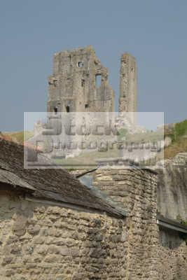 corfe castle south west england southwest country english uk dorset angleterre inghilterra inglaterra united kingdom british