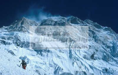 climbing camp south face annapurna himalayan mountains nepal asian travel himalayas mountaineering peak sherpas climbers people wilderness cold altitude adventure air chris bonington asia nepalese
