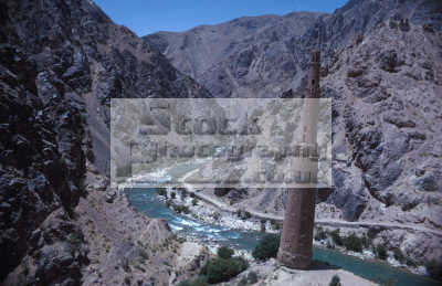 minaret jam ghor central afghanistan. river hari rud indian asian travel afghanistan twin qub minar delhi india asia