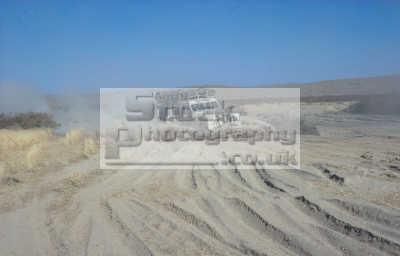 land rover series iii ploughing bull dust dasht laili desert green northern afghanistan asian travel adventure overland asia afganistan afganistani