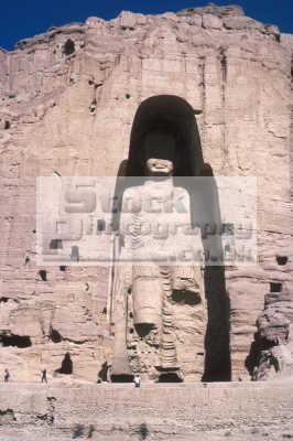 largest buddha bamiyan afghanistan destroyed taliban march 2001 53 metres 175 feet- high asian travel asia afganistan afganistani