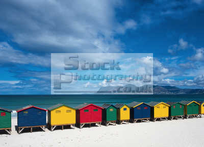 beach huts cape town southern african travel color south africa afrikaans