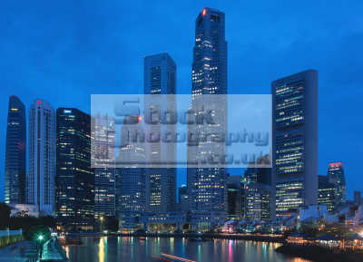 singapore skyscrapers financial district contemporary architecture asian travel finance capitalism capitalist markets asia