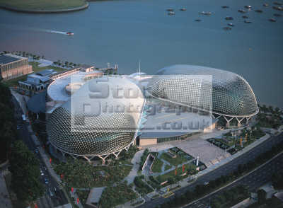singapore esplanade theater contemporary architecture asian travel theatre asia
