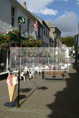 bodmin street cafes south west england southwest country english uk cornish cornwall angleterre inghilterra inglaterra united kingdom british