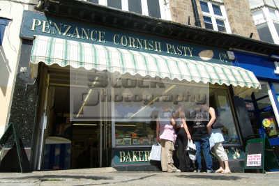 penzance cornish pasty shop south west england southwest country english uk cornwall angleterre inghilterra inglaterra united kingdom british