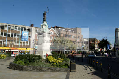 town hall square luton uk halls government buildings british architecture architectural bedfordshire beds england english angleterre inghilterra inglaterra united kingdom
