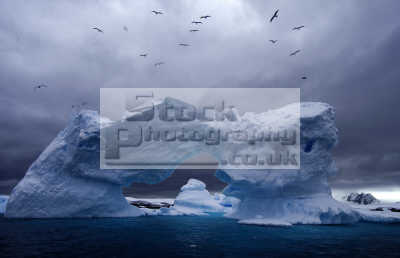 antarctica iceberg icebergs geology geological science misc. polar south pole ice arch antarctican