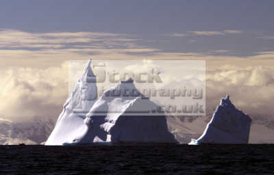 antarctica iceberg clouds icebergs geology geological science misc. polar cold ice sea ocean antarctican