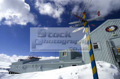 ukranian research station antarctica polar natural history nature misc. south pole cold ice buildings antarctican