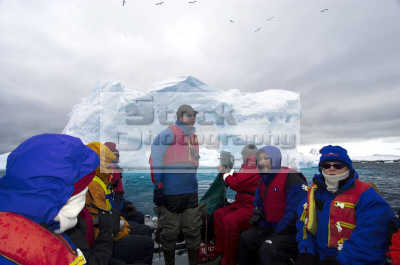 tourists viewing ice antarctic coast polar natural history nature misc. eco tourism antarctica antarctican