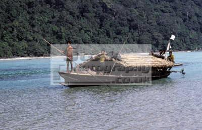 moken known saleeter salon salone morgan sea gypsies mergui archipelago thailand living traditional life boat sea. koh surin nua north island come ashore monsoon. indiginous people asian travel asia thai