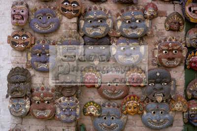 masks semi-precious semi precious semiprecious stones sale kathmandu nepal asian travel asia nepalese