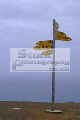 distance signs new zealand pacific travel oceanic sea oceans kiwi