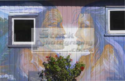 maori mural kaeo bay islands new zealand pacific travel oceanic sea oceans kiwi