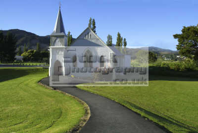 church kaeo new zealand pacific travel northland north island oceanic sea oceans kiwi