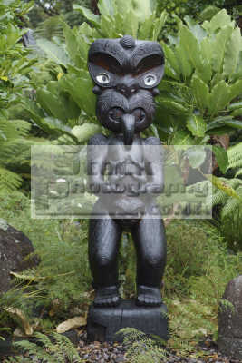 maori statue coromandel new zealand pacific travel pauanui northland tribal oceanic sea oceans kiwi