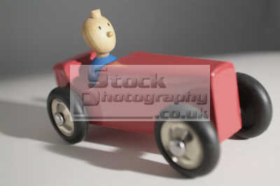 model car tintin sitting toys play household home abstracts misc. red blue wooden united kingdom british