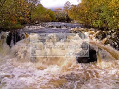 scaur water spate late autumn uk rivers waterways countryside rural environmental dumfries galloway dumfrieshire dumfriesshire scotland scottish scotch scots escocia schottland united kingdom british