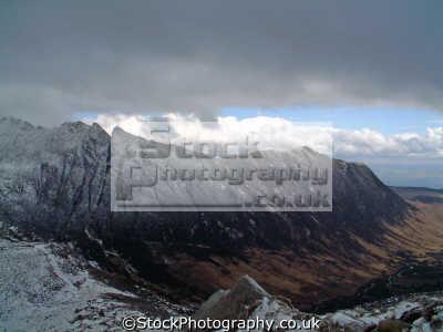 view ceum na caillich ridge north goatfell arran. mountains countryside rural environmental uk mountain isle arran highlands islands scotland scottish scotch scots escocia schottland united kingdom british